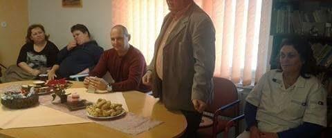Látogatás az Egészségügyi-szociális központban
