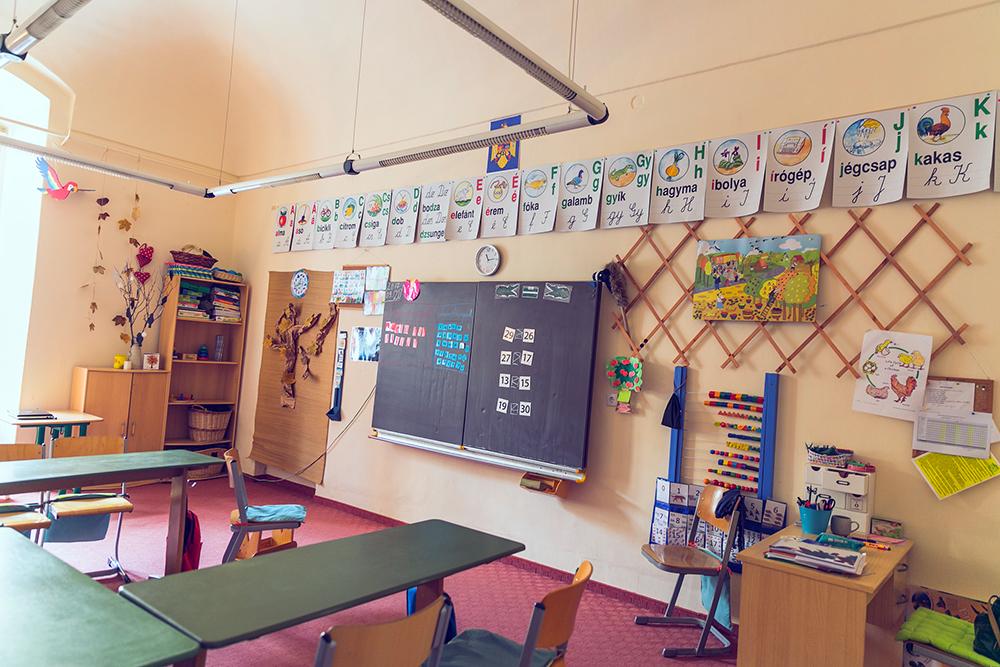 osztály terem - sală de clasă