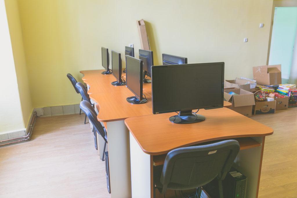 Számítógép terem - Cabinet Informatica