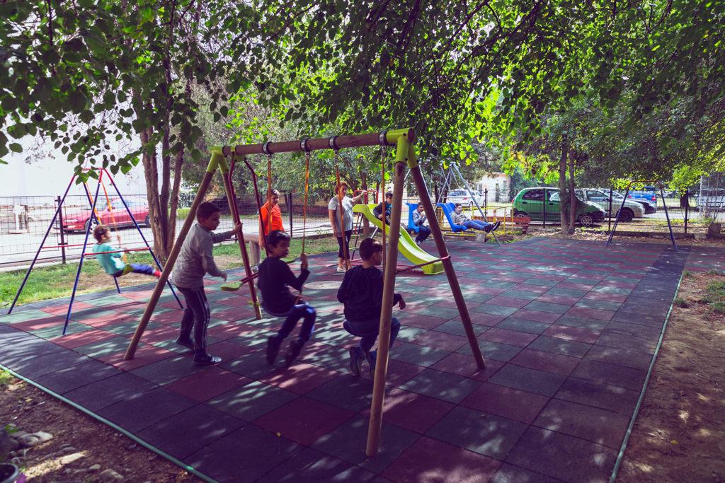 Játszótér - Teren de joacă